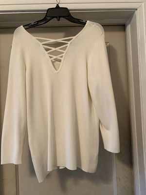 Ivory Dressy Top for Sale in Jackson, MS