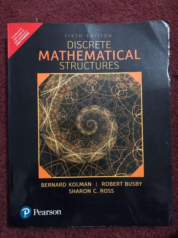 Discrete Mathematical Structures 6th edition