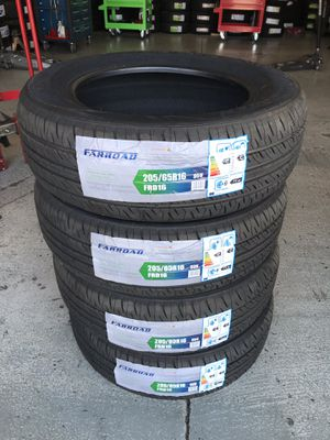BRAND NEW SET OF TIRES 205/65/16 for Sale in Bloomington, CA