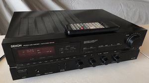 DENON PRECISION AUDIO COMPONENT / AM-FM RECEIVER DRA-425R with Remote Control RC-111 for Sale in Livermore, CA