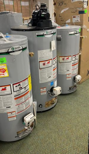 AO SMITH WATER HEATERS!!! GAS AND ELECTRIC!!! G9L for Sale in Houston, TX