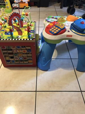 Activity cube and table (Kids toys) for Sale in Brooklyn, NY