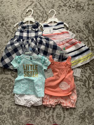 Carter's Baby girl clothing for Sale in Bryans Road, MD