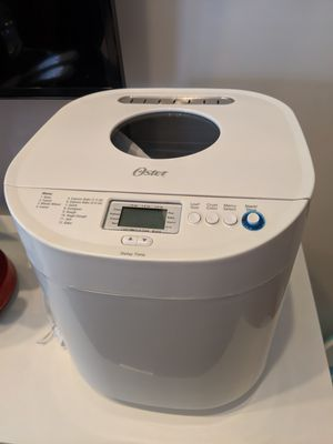 Oster Express Bake White Bread Machine for Sale in Delray Beach, FL