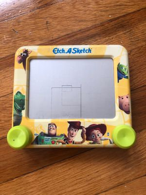 Toy story etch a sketch rare collectible for Sale in Johnston, RI