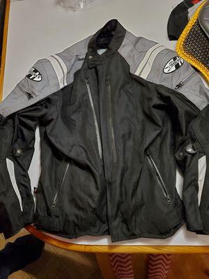 Joe Rocket Mens Motorcycle jacket with 2 back protectors for Sale in Philadelphia, PA