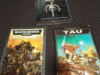 Warhammer Book Lot 40k 40 000 for Sale in Houston,  TX