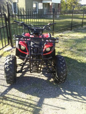 Motorcycle 4 wheeler four wheeler dirt bike go kart Atv cuatrimoto for Sale in Dallas, TX