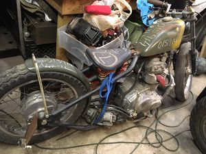 ***CHOPPER BOBBER PROJECT***•***PARTS BIKE*** for Sale in Joliet, IL