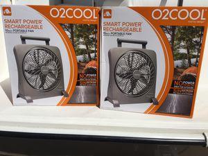 "Smart Rechargeable Portable Fans 10"" for Sale in Hampton, VA"