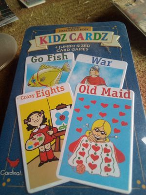 Kids card games for Sale in Ontario, CA