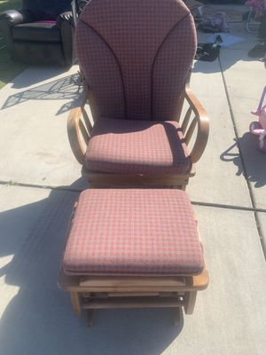 Gliding Chair and Ottoman for Sale in Sanger, CA