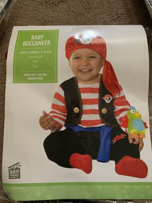 Baby pirate costume for Sale in Huntington Beach, CA