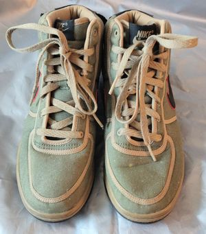 Sneakers-Nike Vandal Deco Green Khaki and Tan Basketball Shoes - Youth Size 5 for Sale in TN OF TONA, NY