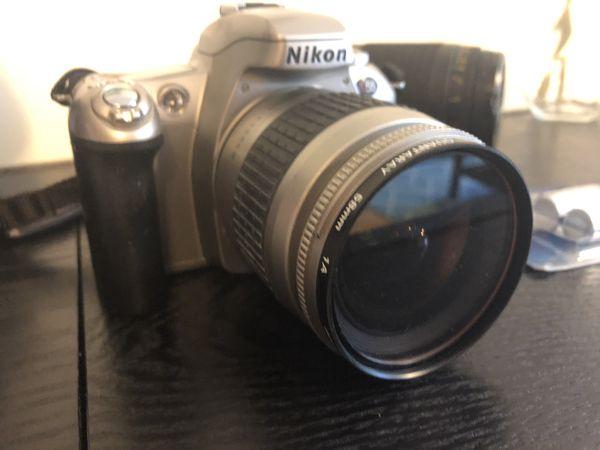 Nikon N55 FILM SLR camera