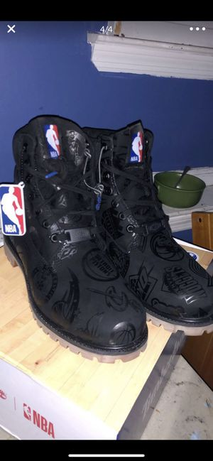 NBA x TIMBERLAND boots size 11.5 for Sale in Evesham Township, NJ