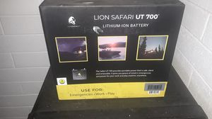 Lion safari in battery lithium battery for Sale in Whittier, CA