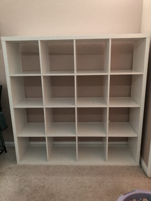 White Bookcase Storage Shelve for Sale in San Diego, CA