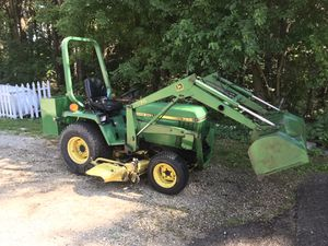 """John Deere 755 tractor with 70 loader and 60"""" mower 4X4 for Sale in Marengo, IL"""