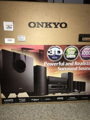 Onkyo 7.1 Powerfull Surround Sound System, Amplifier for Sale in Hialeah, FL