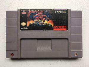 Demon's Crest Super Nintendo/SNES @VGs! for Sale in Austin, TX