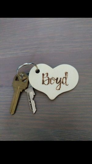 Personalized gift key chain for Sale in Tempe, AZ