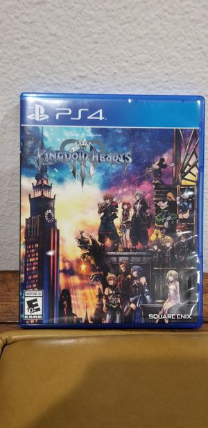 KINGDOM HEART III- PS4, PRICE FIRM, TRADE FOR Sekiro OR Madden 20 only for Sale in Garden Grove, CA
