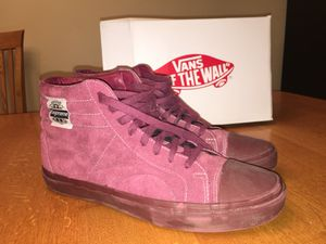 Supreme F/W Burgundy Native American Vans size 11.5 2014 for Sale in Lincolnshire, IL