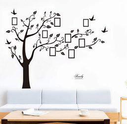 Brand new Wall Decor Large Family Tree DIY Photo Frame Sticker Sitting Bedroom Decoration for Sale in Baltimore,  MD