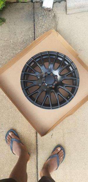 ford focus rims set off 4 all black for Sale in Ashburn, VA