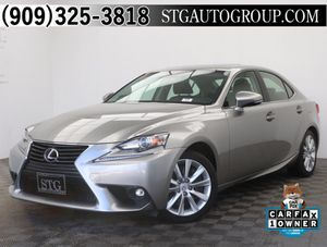 2016 Lexus IS for Sale in Montclair, CA