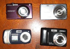 Lot of Cameras for Sale in Glenwood, OR