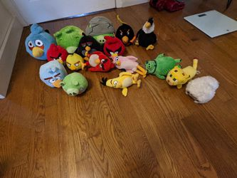 Angry Birds Minecraft Plushies Toys for Sale in Waterford,  CT