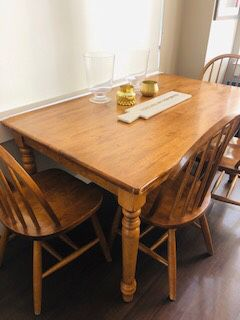 Antique Dinning Room / Breakfast Room Farm Table and Chairs for Sale in Washington, DC
