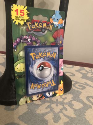 Pokemon 15 Card + Promo- 2012 Vintage Pack - Holo - Possible Charizard *Sealed* for Sale in Columbus, OH