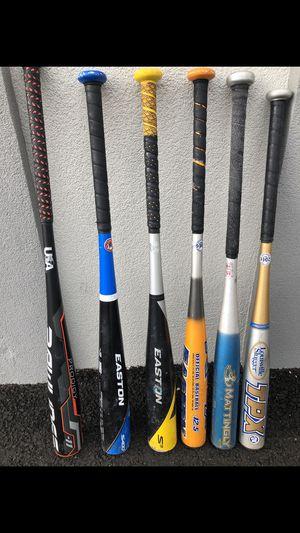 Baseball bats. for Sale in Marlboro Township, NJ