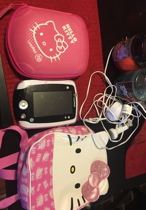 Hello Kitty Kids Leap Pad2 (games, bag, and case) for Sale in Columbus, OH