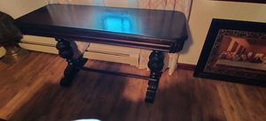 Antique Table Dark Brown for Sale in Lawrence, MA