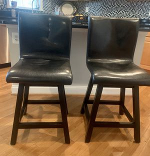 Two - Lawrence Swivel Counter Stools for Sale in New Market, MD