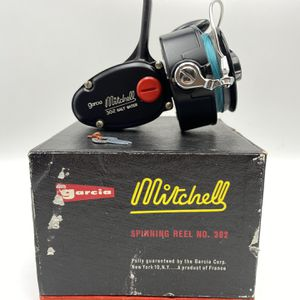 NOS Vintage Garcia Mitchell 302 Salt Water Spinning Reel for Sale in Renton, WA