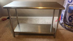 Stainless steel table for Sale in Dallas, TX