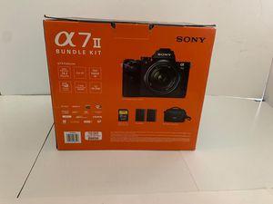 Sony Alpha a7 II Mirrorless Digital Camera w/ 28-70mm Lens & Accessories Bundle for Sale in Houston, TX