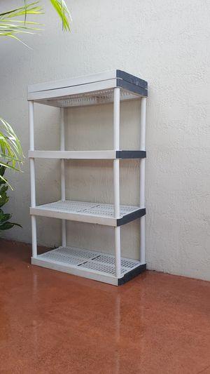 Plastic shelves storage garage for Sale in Miami, FL