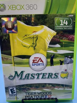 XBOX 360 EA Sports Tiger Woods PGA 12 Masters Video Game for Sale in Watsonville,  CA