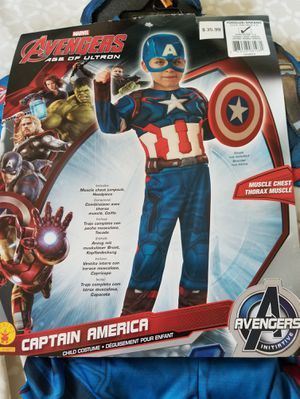 "Brand new toddlers Halloween costume ""captain America"" for Sale in Middleburg Heights, OH"