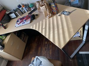 Desk with file cabinet for Sale in Sanford, NC