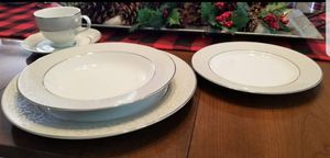 Mikasa Parchment place setting for 12 for Sale in Anaheim, CA