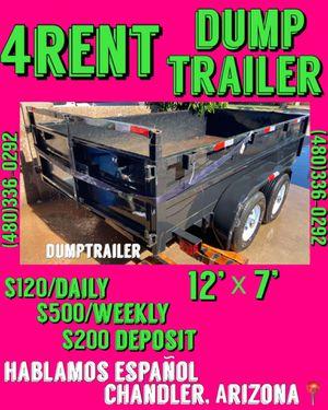 12'x7' Dump Trailer for Sale in Chandler, AZ