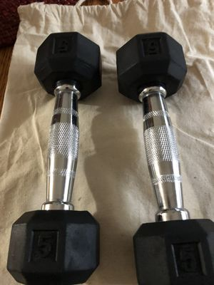 Pair of weights for Sale in Garner, NC