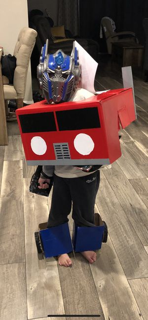 Optimus prime mask and homemade costume for Sale in Castro Valley, CA
